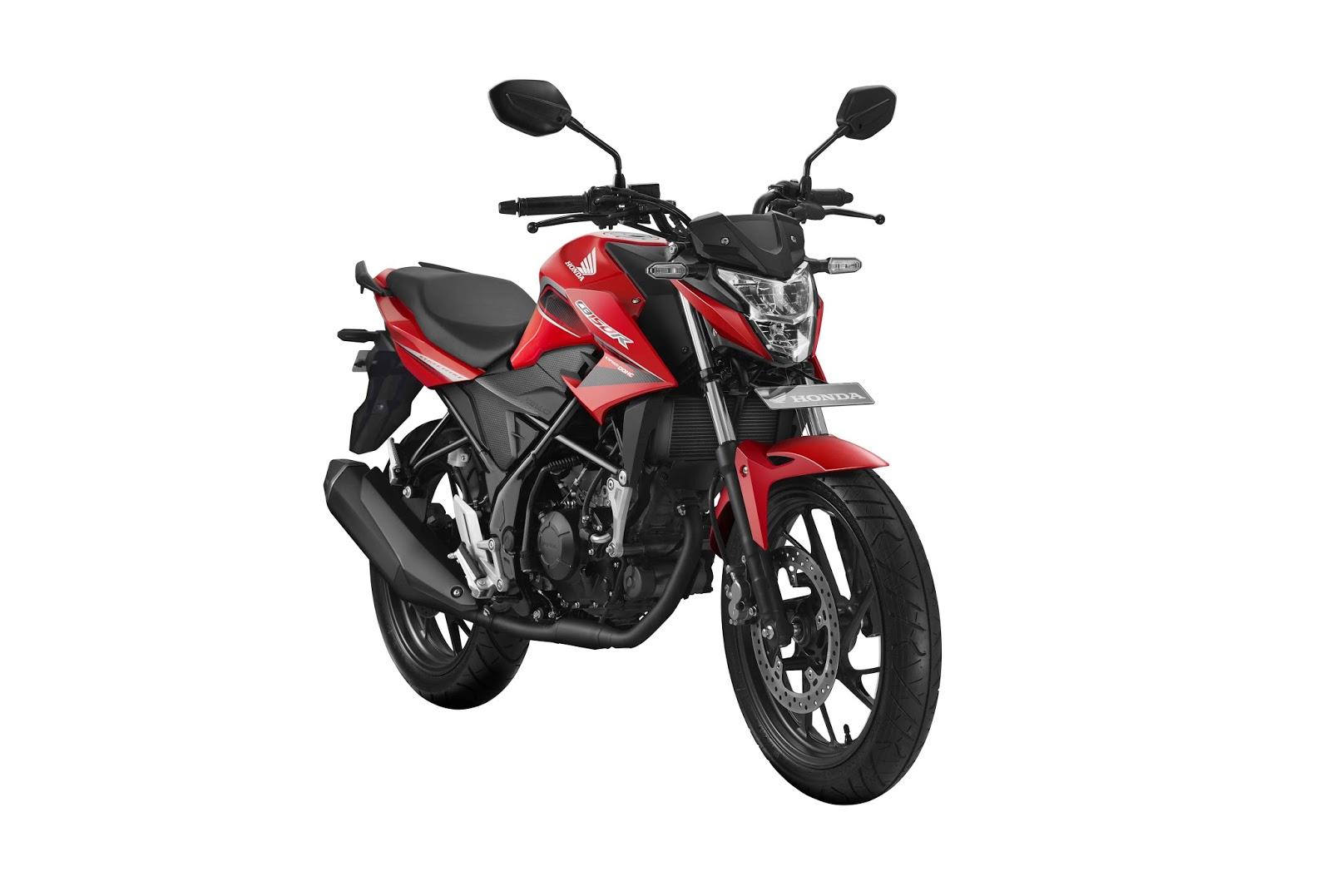 kumpulan sepeda motor honda terbaru keluaran tahun 2017 indonesia