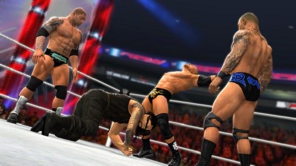 Conheça o novo game de luta WWE 2K15