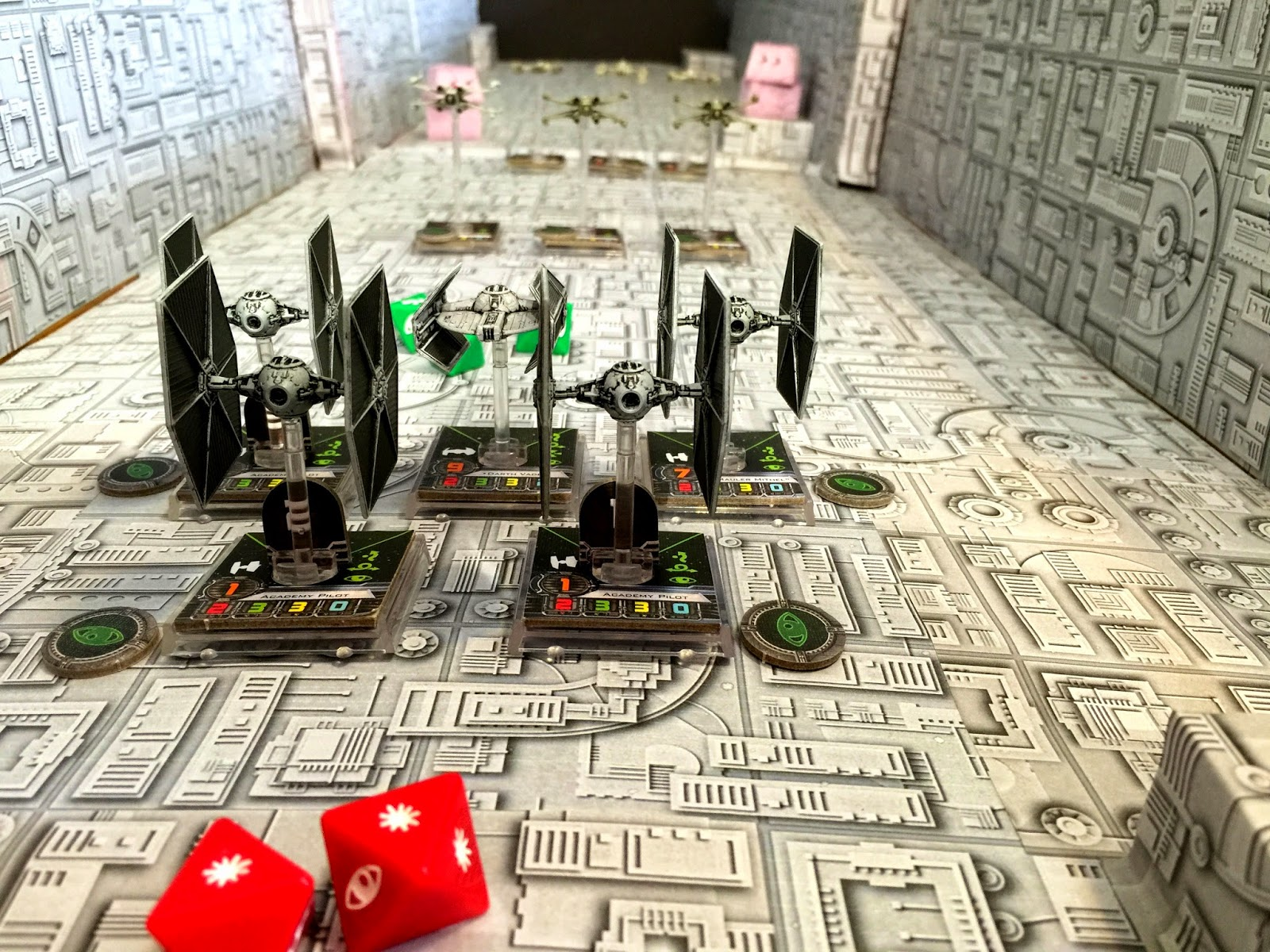 Battle of Yavin; Darth Vader's squadron; I'm on the leader