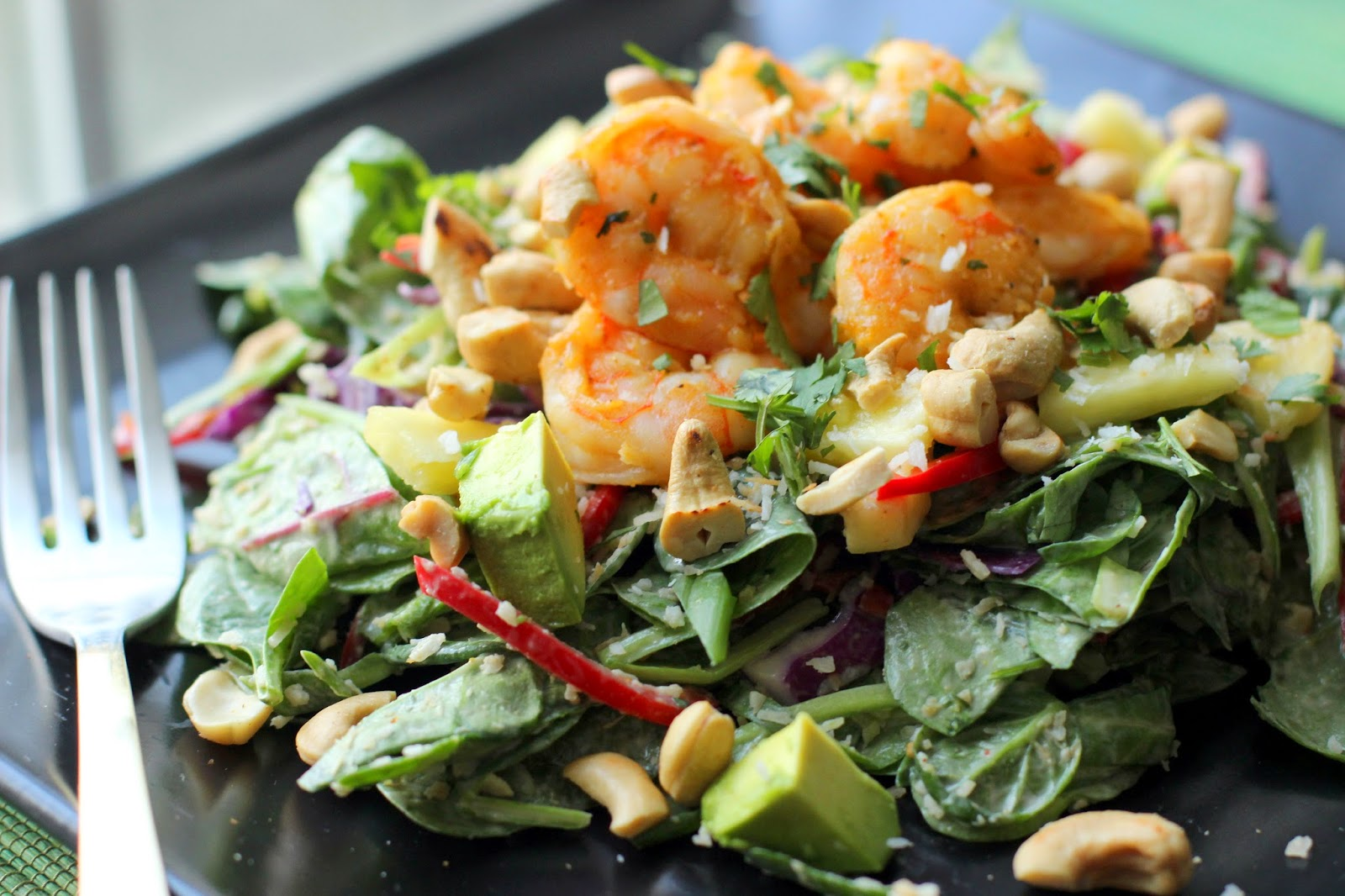 The Owl with the Goblet: Coconut Thai Shrimp Salad