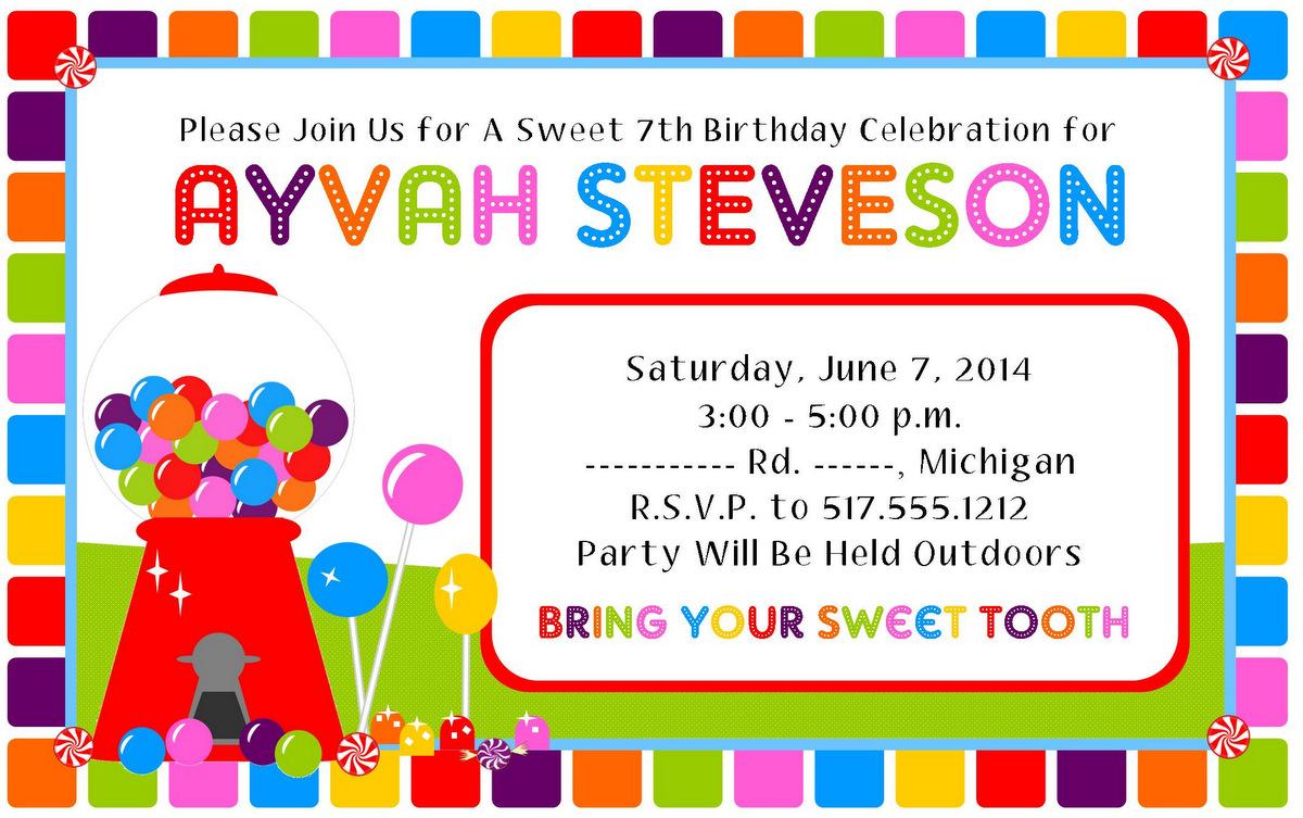 Joyously Domestic: Candy Land Birthday Party