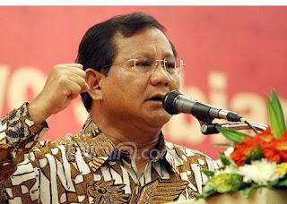 Kata Prabowo Mengenai Novanto : Kalau Kawan Mesti Dibela