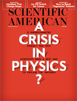 A Crisis in Physics (Scientific American)