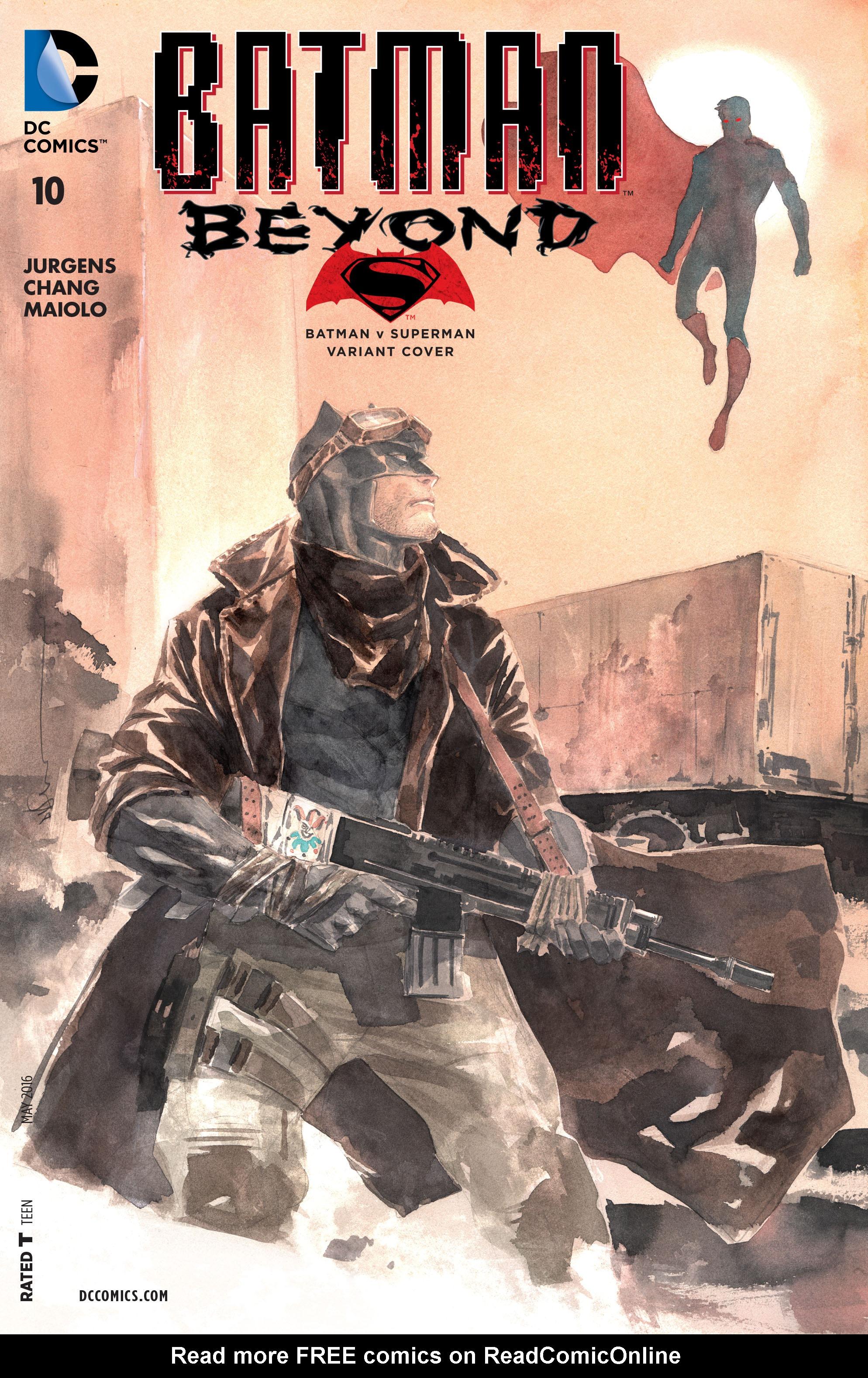 Batman Beyond (2015) Issue #10 #10 - English 3