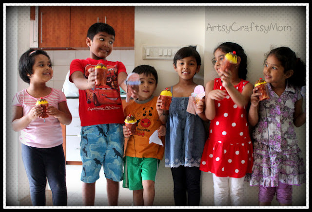 CraftClass3 Ice Cream Craft