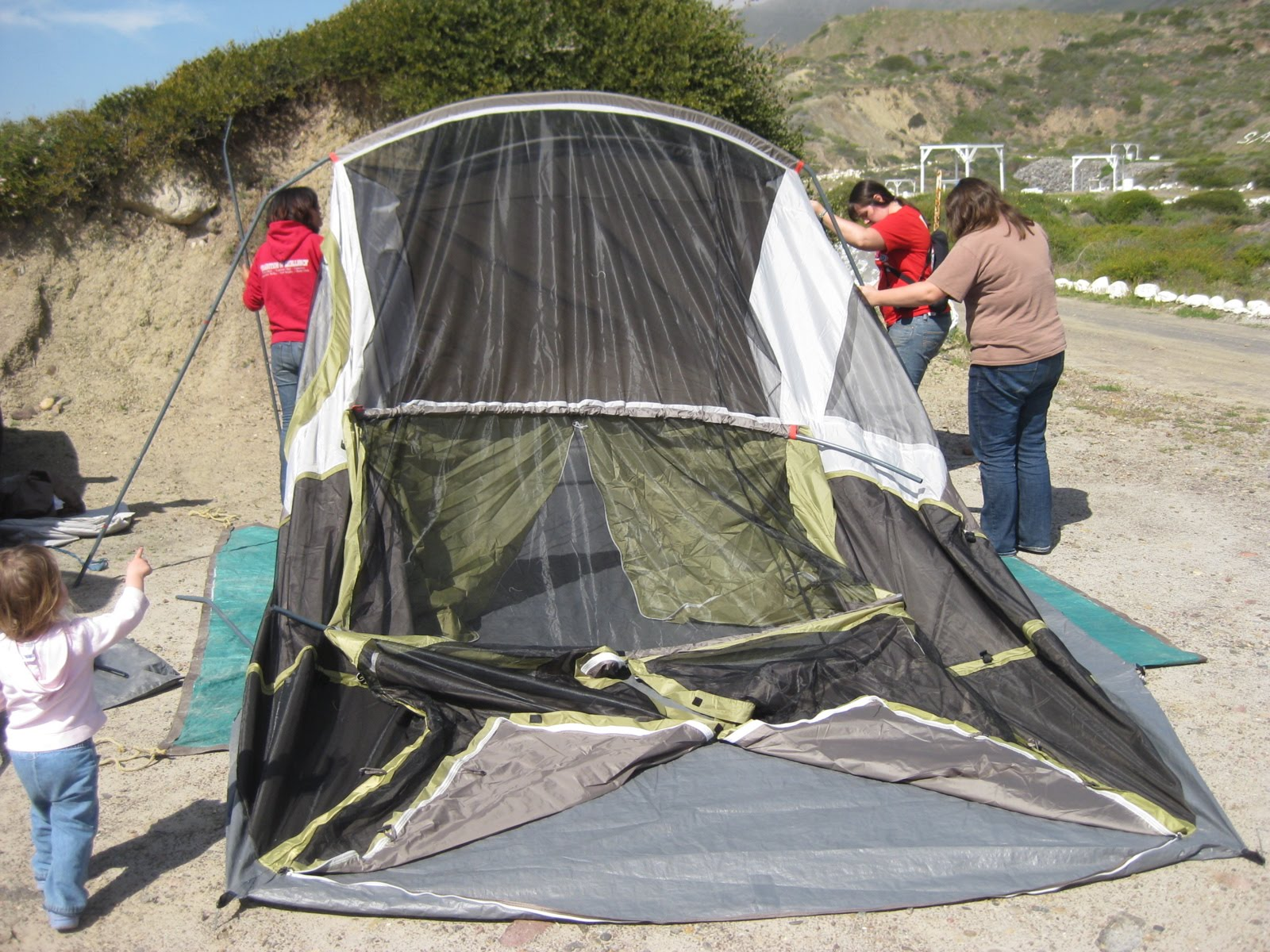 putting up a tent instructions