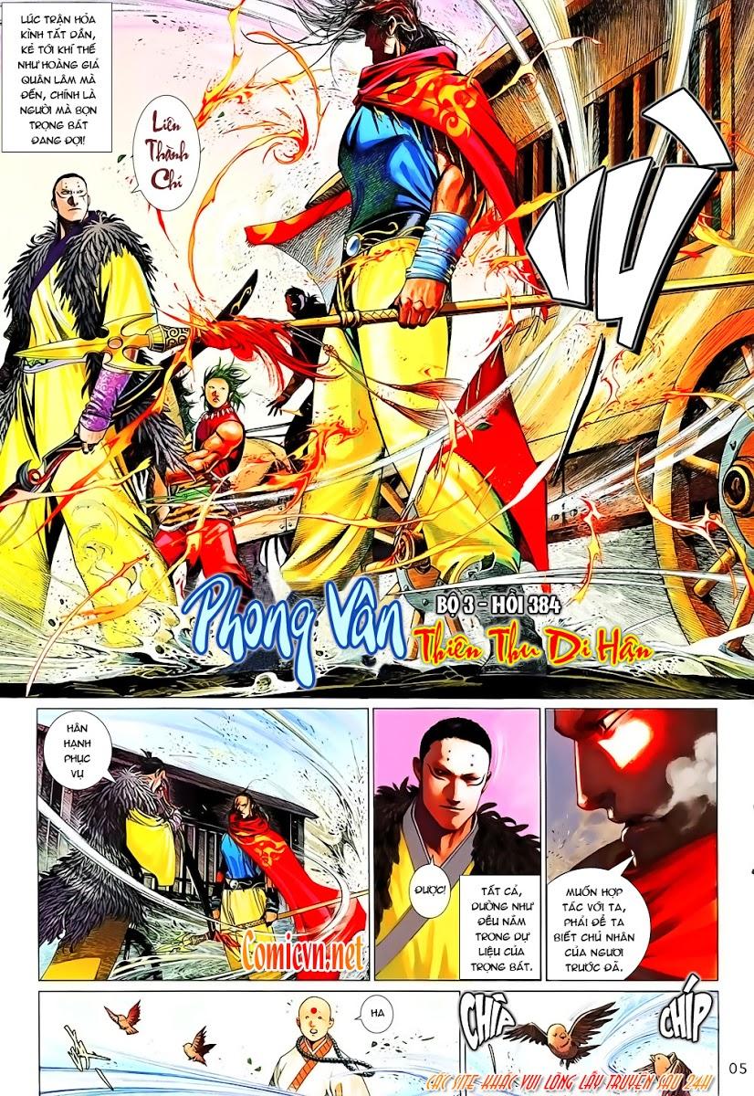 Phong Vân chap 642 Trang 5 - Mangak.info