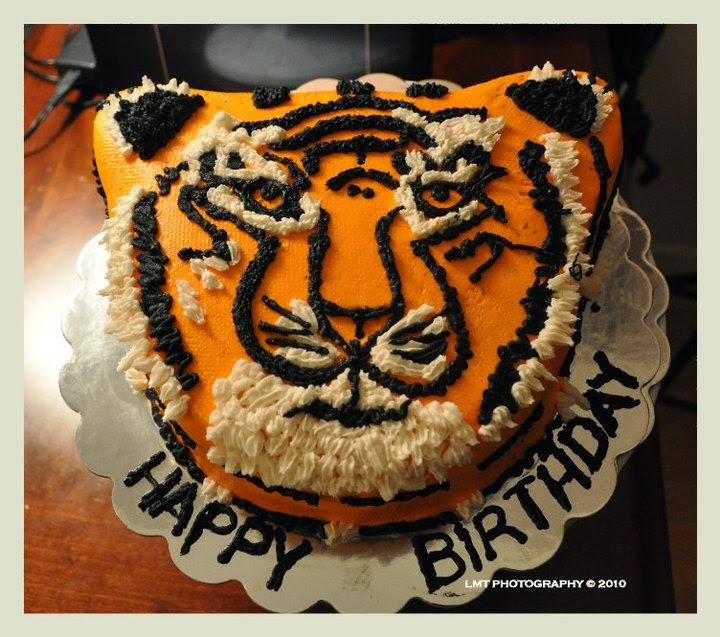 Ảnh bánh sinh nhật hình con hổ đẹp nhất đáng yêu nhất