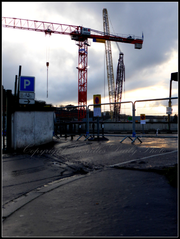 Highest crane in Europe Versailles Chantiers