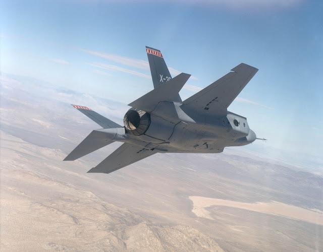 X-35 turning