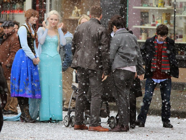 Once Upon a Time - Episode 4.10 - Shattered Sight - Set Photos
