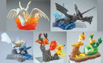 Pokemon Battle Motions Figure Bandai