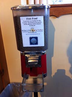 Racao+de+Peixe+2+ +Orvis Referências Vending Machines   EUA (parte #1)