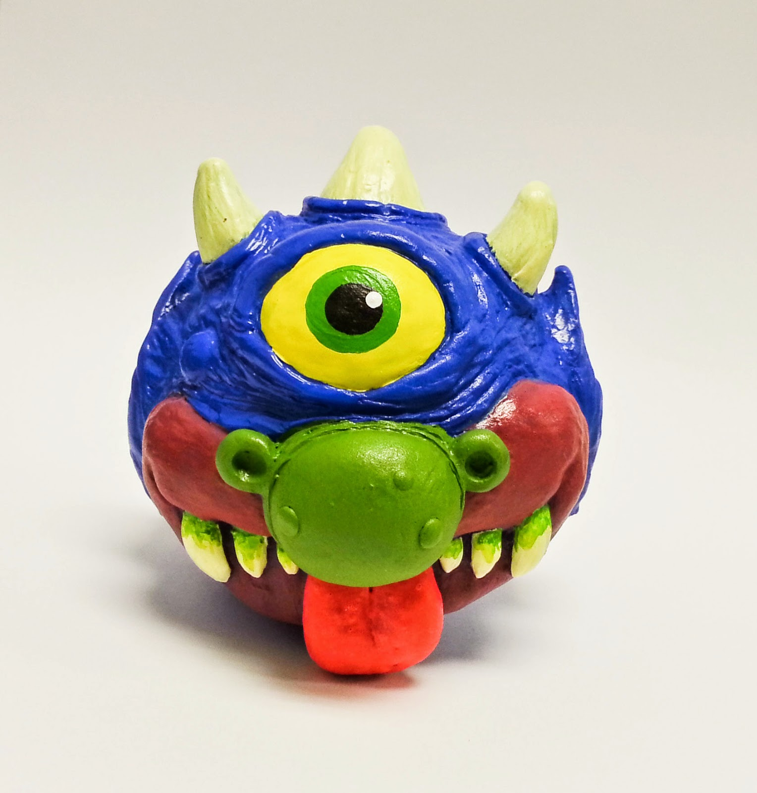 "Madballs x My Pet Monster ""My Pet Madball"" Resin Figure by Motorbot"
