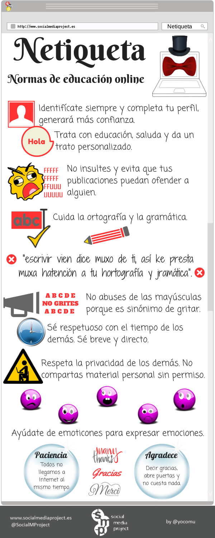 Normas de educación online