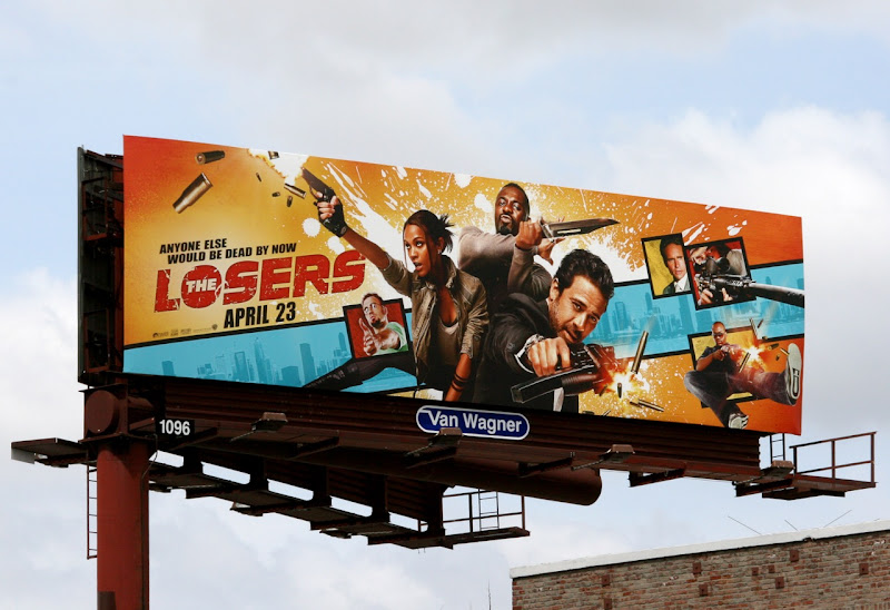Losers movie billboard