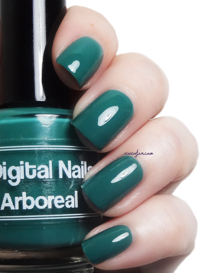 xoxoJen's swatch of Digital Nails Arboreal