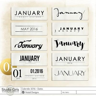 http://shop.scrapbookgraphics.com/2016-Calendar-Dates.html