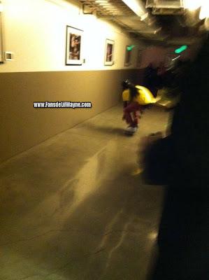 fotos de lil wayne y si hija reginae en los grammy 2012