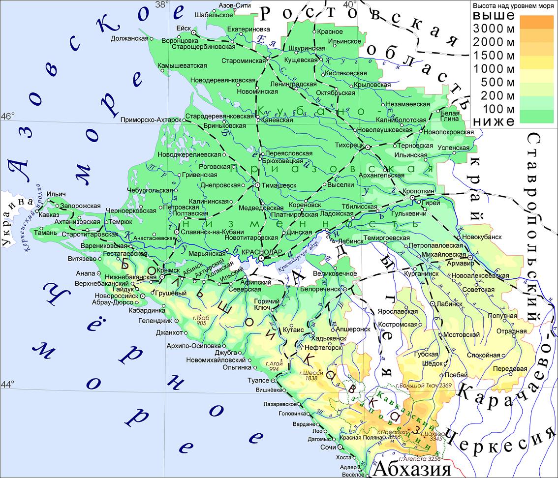 Отдых на курортах Краснодарского края на Черном море