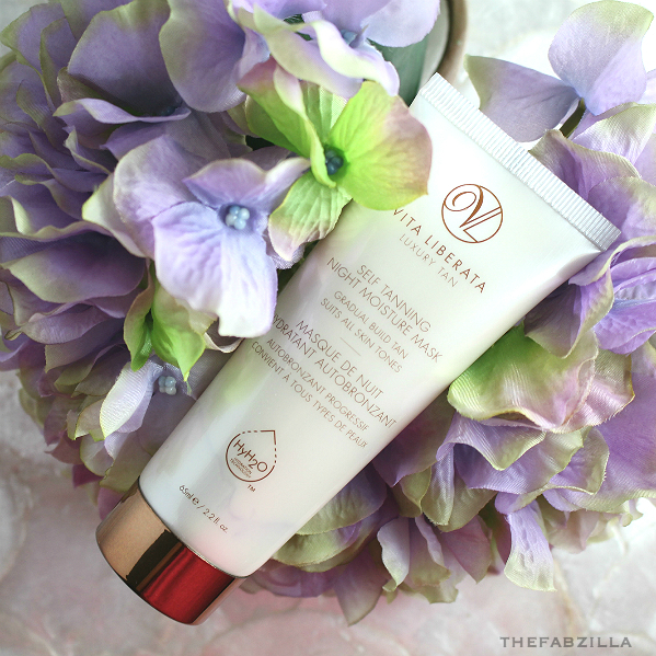 Vita Liberata Self-Tanning Moisture Mask, self-tanning, ingredients self-tanner, faux tanning, tips faux tanning, summer must-have