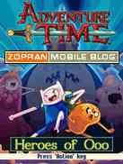adventure time heroes of ooo java games