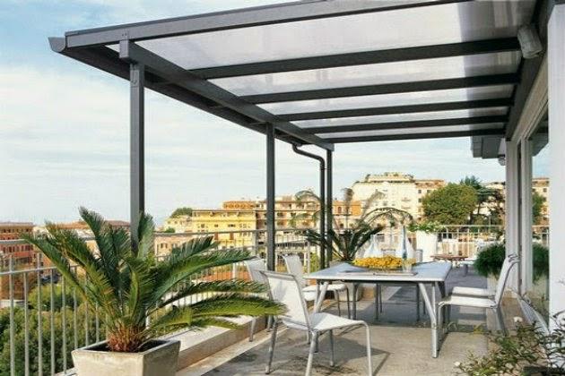 Estilos y dise os apoyados en p rgolas de hierro for Techos de tejas para patios exteriores