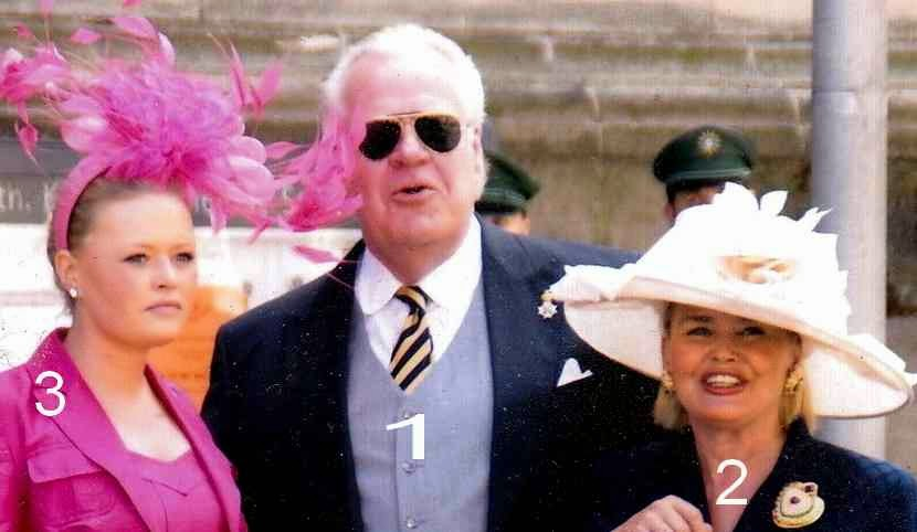 Michael, Dagmar et Leonie de Saxe-Weimar-Eisenach