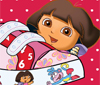 jogo de decoração de sapatos da Dora