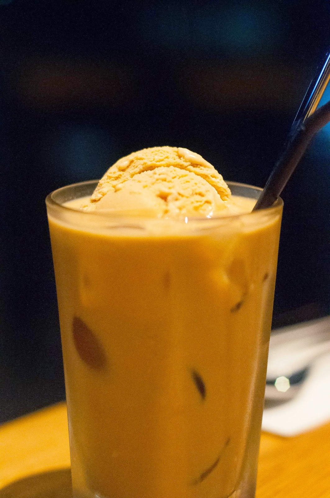 Salted Caramel Iced Latte Providore
