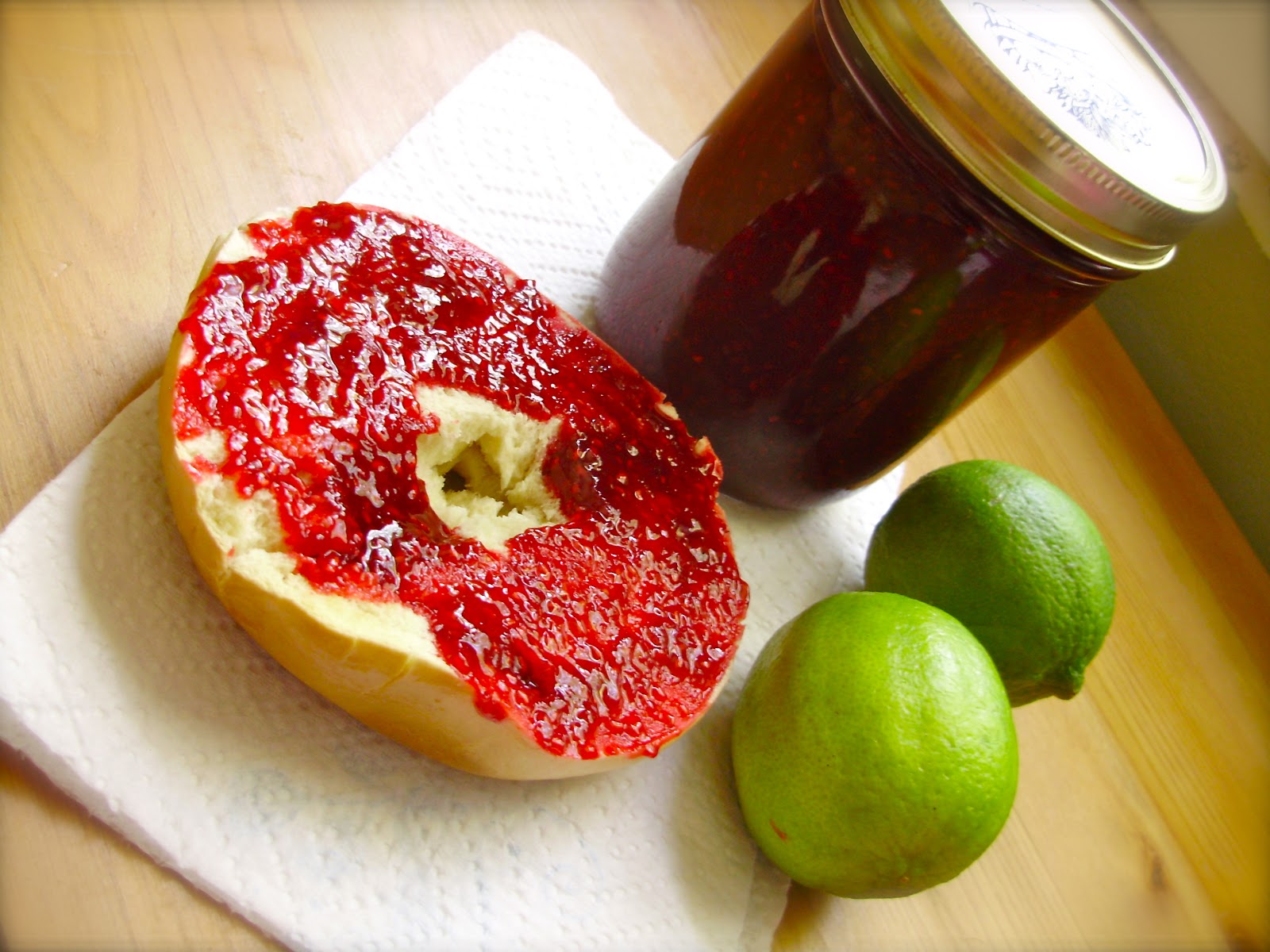 here s to handy andy raspberry lime jam here s to handy andy raspberry lime jam