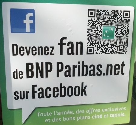 Affiche BNP Paribas