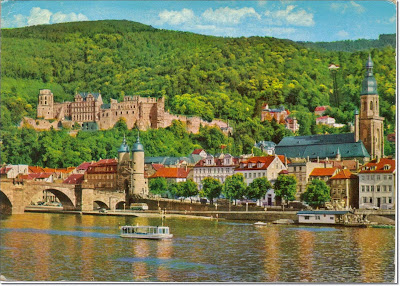 Heidelberg and heidelberg Castle, Germany