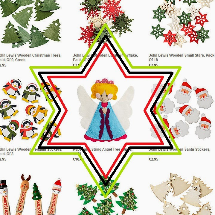 Paper and string september 2014 john lewiss website and find the sewing knitting page its here youll see our christmas tree garland as the lead picture of the make your own solutioingenieria