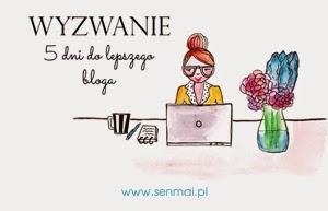 http://www.senmai.pl/2015/03/wyzwanie-blogowe-marzec-5-dni-do-lepszego-bloga/
