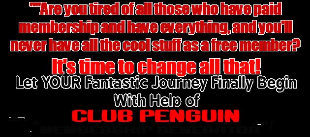 Club Penguin free membership