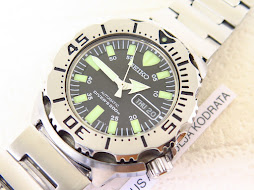 SEIKO DIVER BLACK MONSTER BRACELET FIRST GEN - SEIKO SKX779 - AUTOMATIC 7S26
