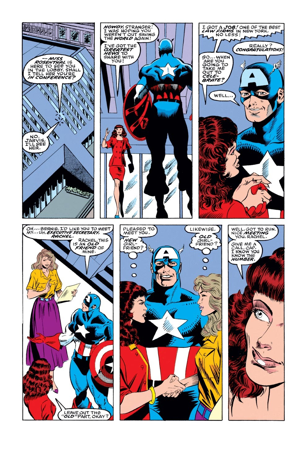 Captain America (1968) Issue #394 #327 - English 15