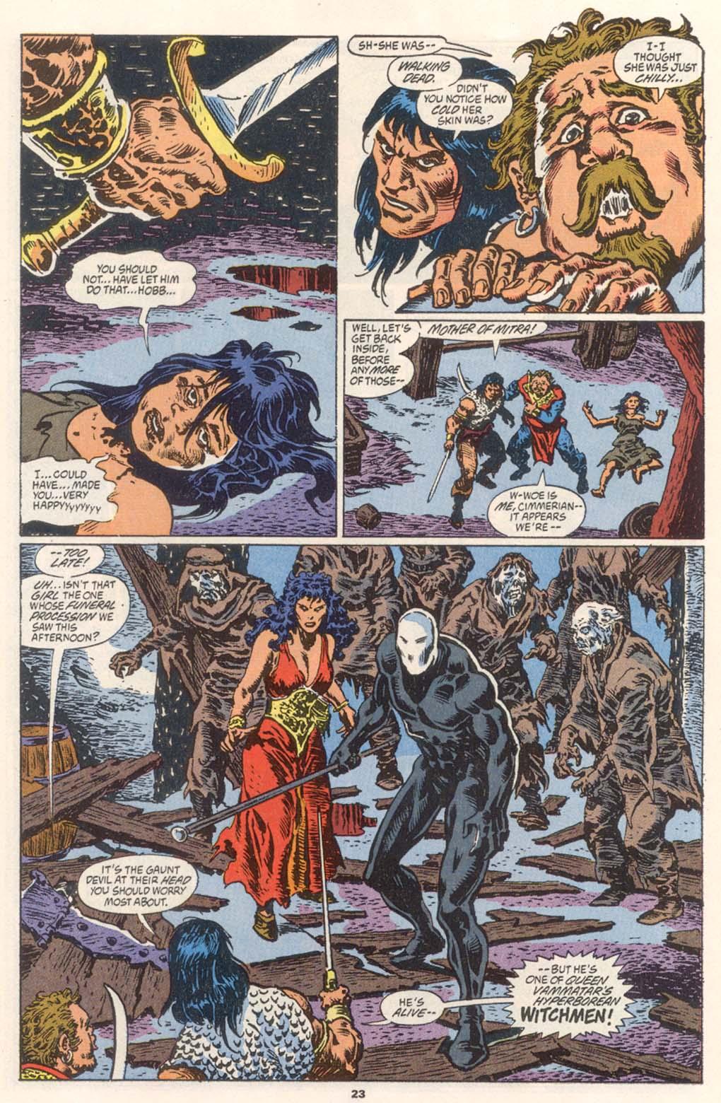 Conan the Barbarian (1970) Issue #252 #264 - English 18
