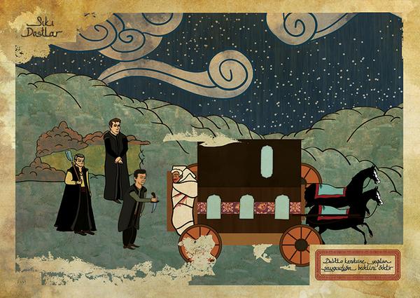 Murat Palta. Classic Movies in Miniature Style