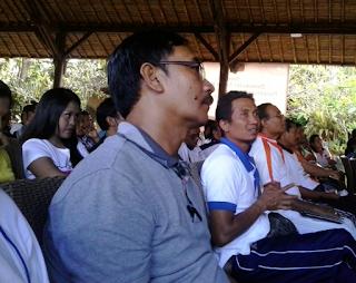 Para petugas PPK PPS KPU Badung mengikuti Seminar