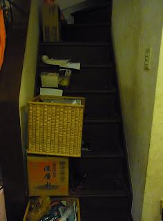 ゴミ屋敷お片づけビフォー&アフター 階段ビフォー画像
