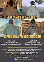 Experiencias Franciscanas 2018