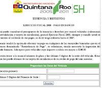 quintana roo consulta tenencia en linea adeudo e infracciones 2013 2014 repuve