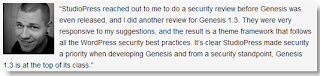 Mark Jaquith WordPress Security Consultant And Developer Says About Genesis Theme