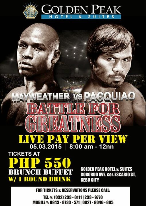 Pacquiao-vs-Mayweather-Golden-Peak-Hotel