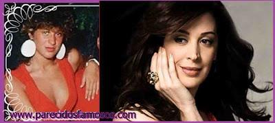 Claudia Raia actriz Brasileña antes y después