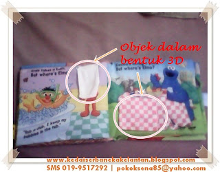 Softbook Where Elmo muka surat 3-4