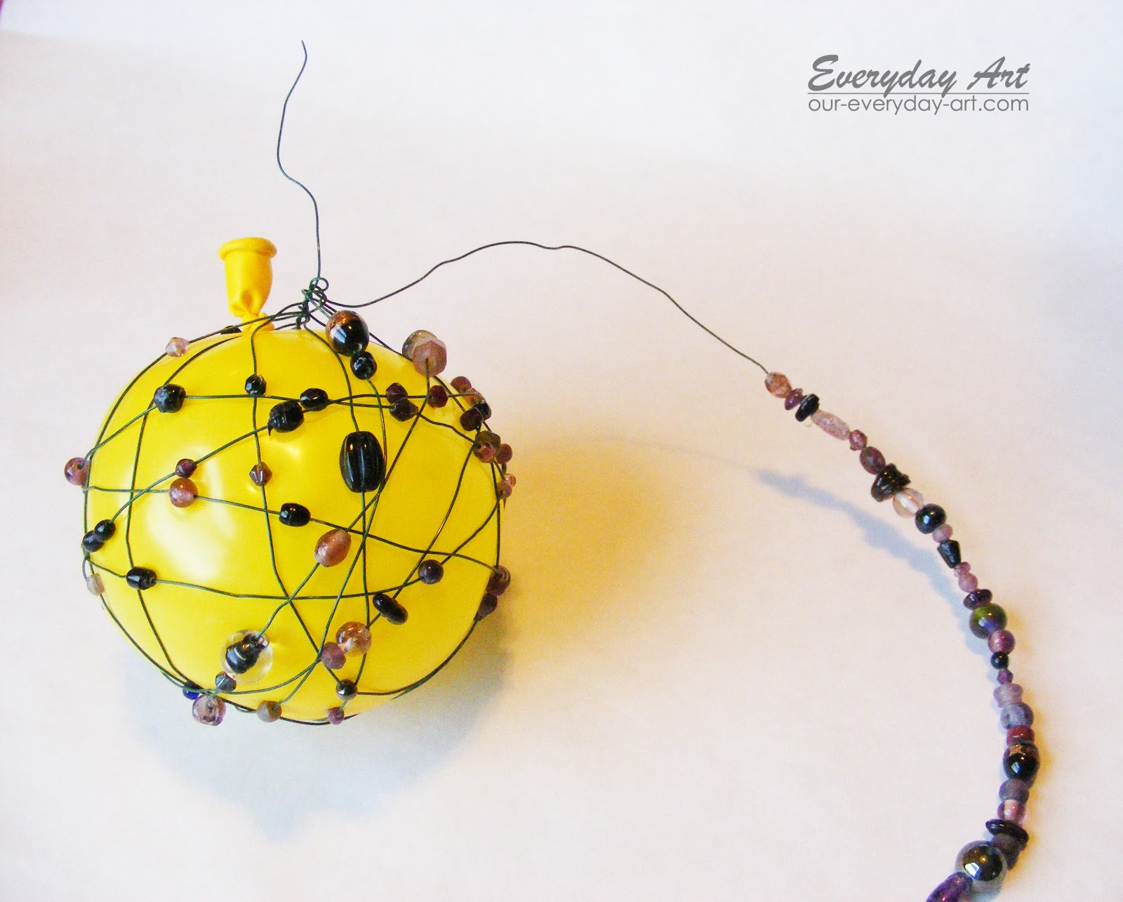 Everyday Art: Wire and Bead Ornaments