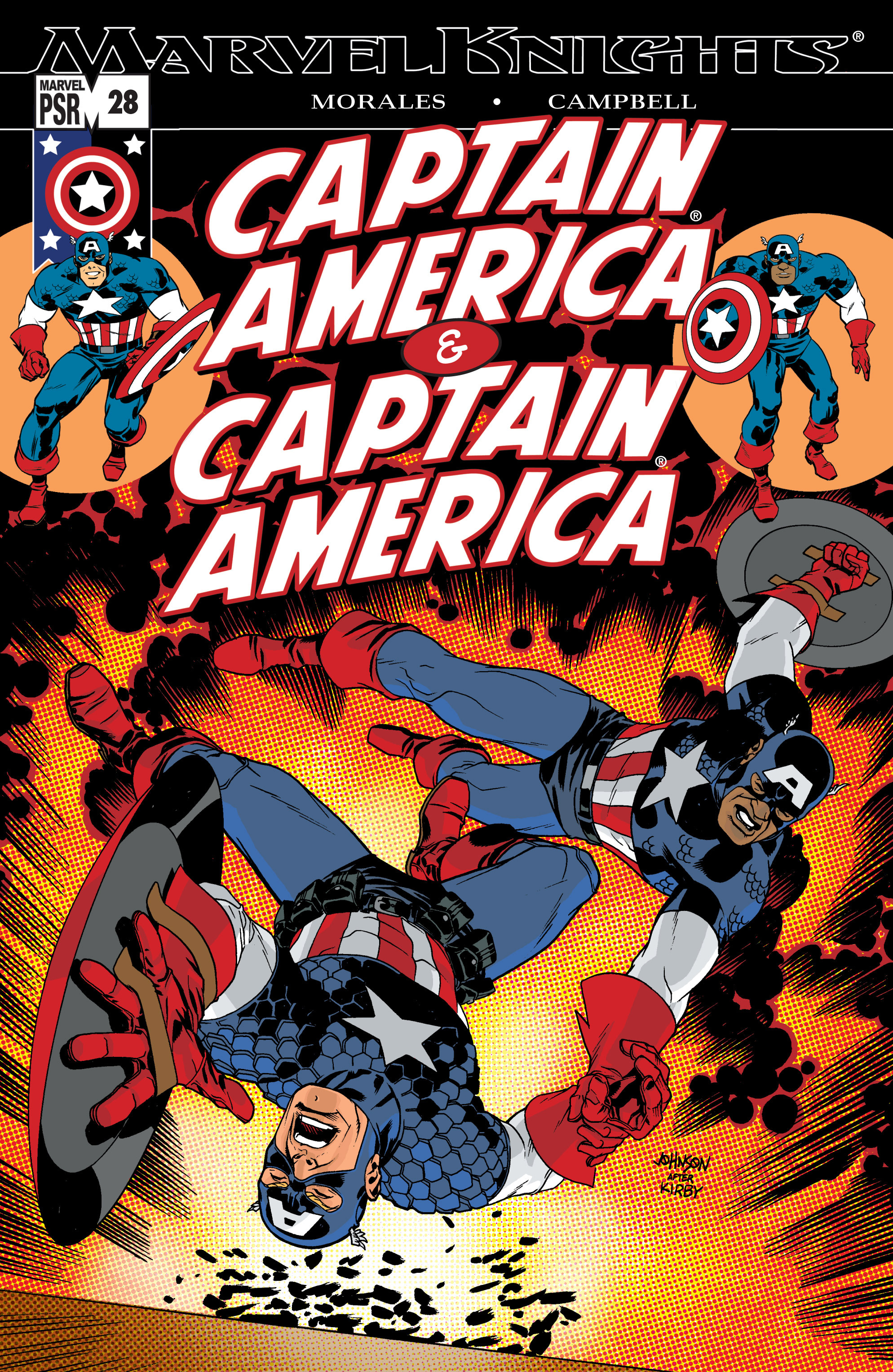 Captain America (2002) Issue #28 #29 - English 1
